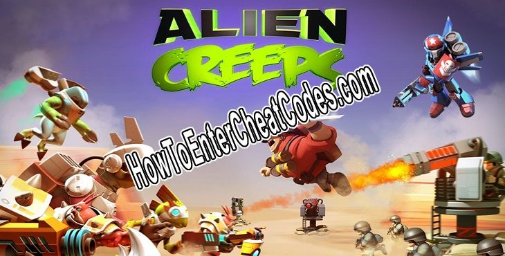 Alien Creeps TD Hacked Gems and Coins