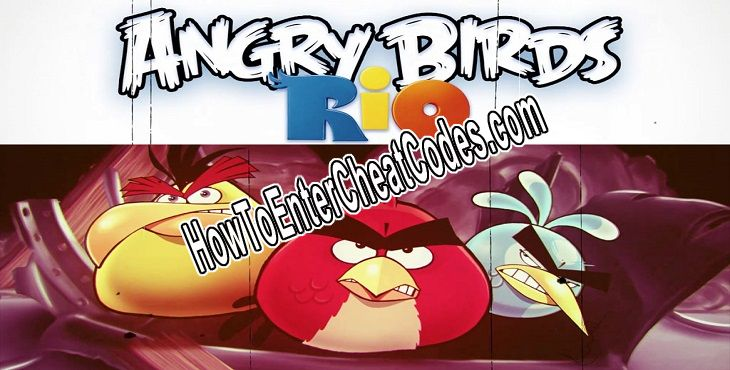 Angry Birds Rio Hacked Money/Coins, All Golden Fruits and Power Ups