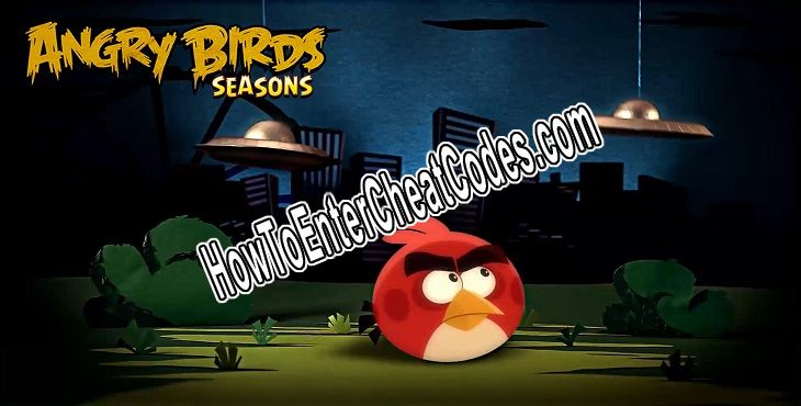 Angry Birds Seasons Hacked Coins and Golden Eggs