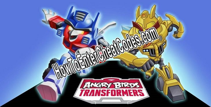 Angry Birds Transformers Hacked Gems and Coins