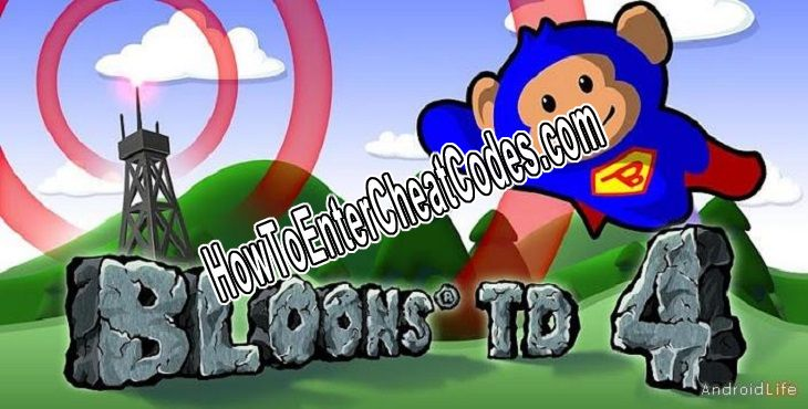 Bloons TD 4 Hacked Money and Tokens