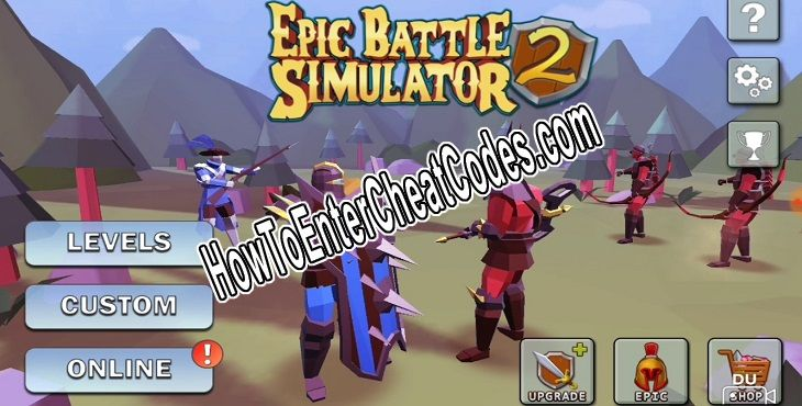 Epic Battle Simulator 2 Hacked Gems and Money