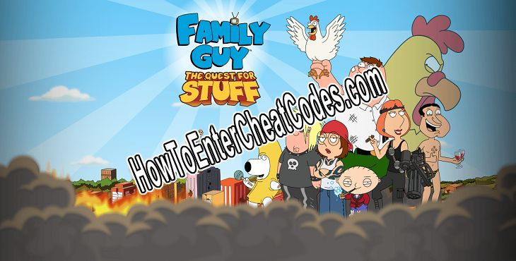 Family Guy: The Quest for Stuff Hacked Clams, Unlock All and Coins