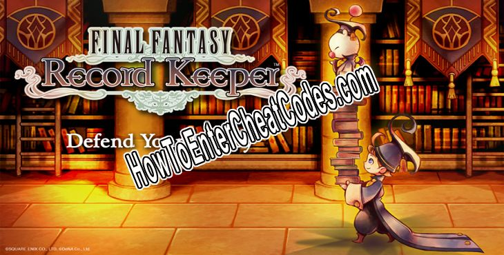 Final Fantasy Record Keeper Hacked Mithril, Gil and Gems