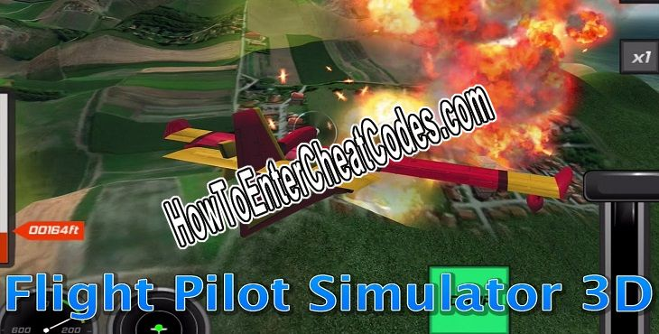 Flight Pilot Simulator 3D Hacked Money and Unlock All