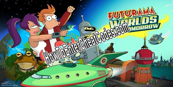 Futurama: Worlds of Tomorrow Hacked Money/Nixonbucks and Pizza