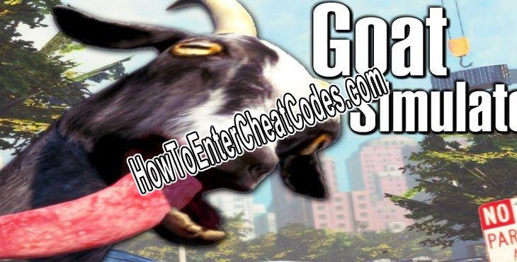 Goat Simulator Hacked Score and Unlock All