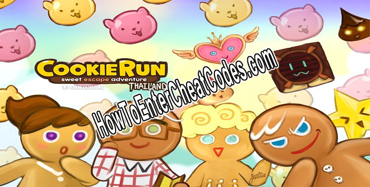 LINE Cookie Run Hacked Crystals and Coins