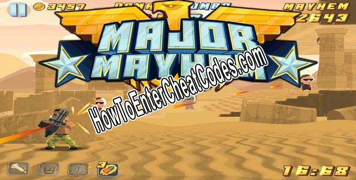 Major Mayhem Hacked Money and Weapons