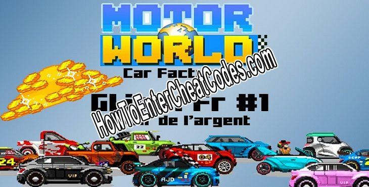 Motor World Car Factory >> Motor World Car Factory Hacked Cash Cheats