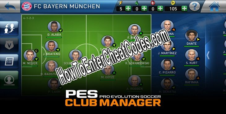 PES CLUB MANAGER Hacked Coins