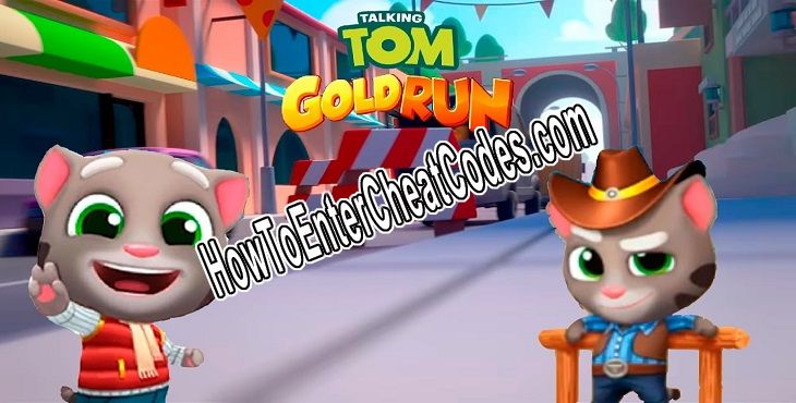 Talking Tom Gold Run Hacked Dynamite and Diamond