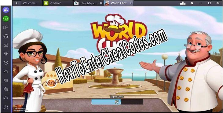 World Chef Hacked Gems and Gold