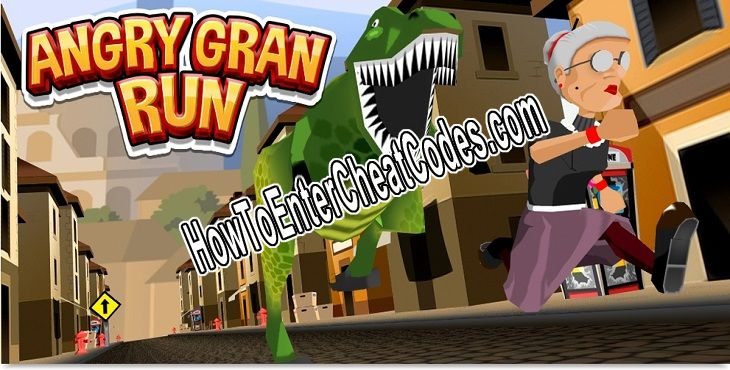Angry Gran Run Hacked Gems and Coins