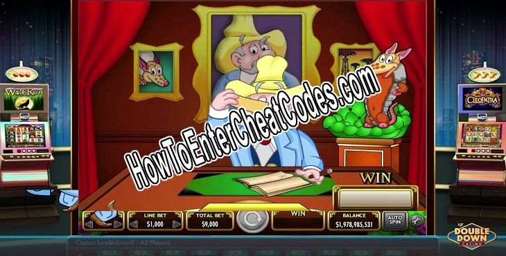 Double Down Casino Hacked Chips/Coins