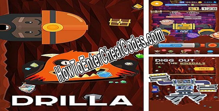 Drilla Hacked Money and Gems