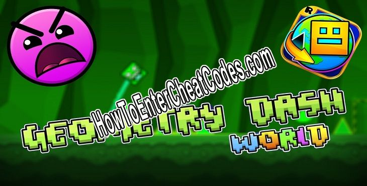Geometry Dash World Hacked Diamonds, Unlock All and Orbs