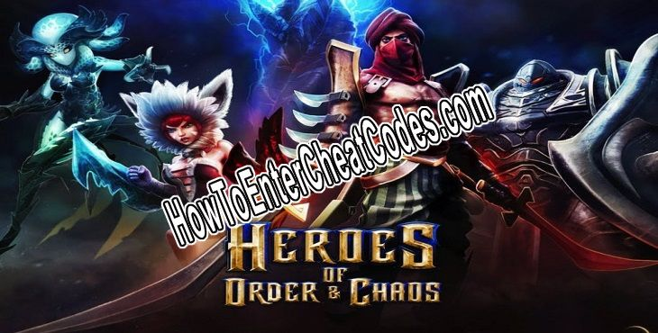 Heroes of Order and Chaos Hacked Runes and Money