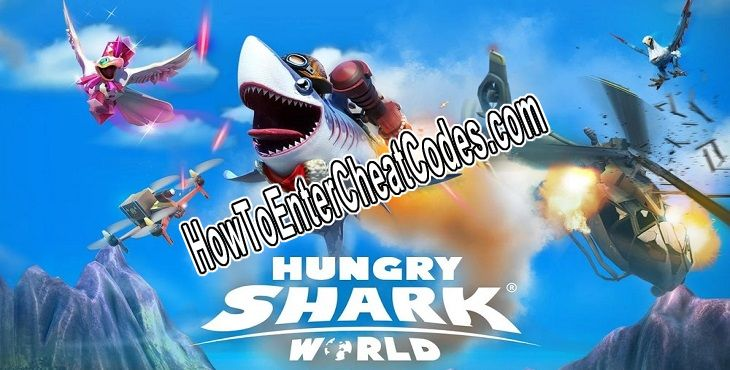 Hungry Shark World Hacked Gems and Coins