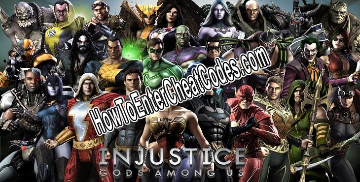 Injustice: Gods Among Us Hacked Money and Energy