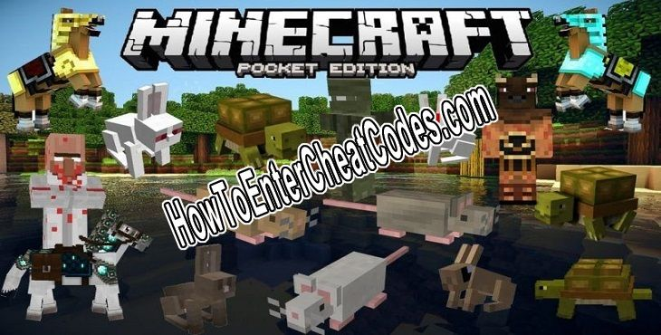 Minecraft: Pocket Edition Hacked Gold, Silver and Diamonds
