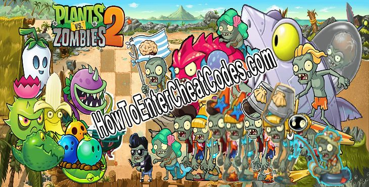 PvZ 2 Hacked Coins and Gems