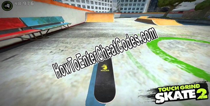 Touchgrind Skate 2 Hacked Score and Unlock Everything