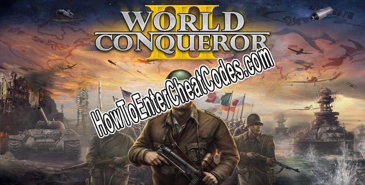 World Conqueror 3 Hacked Medals