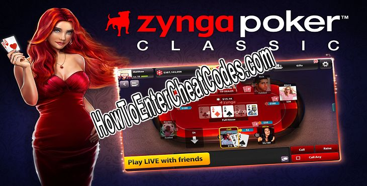 Zynga Poker Hacked Chips and Gold