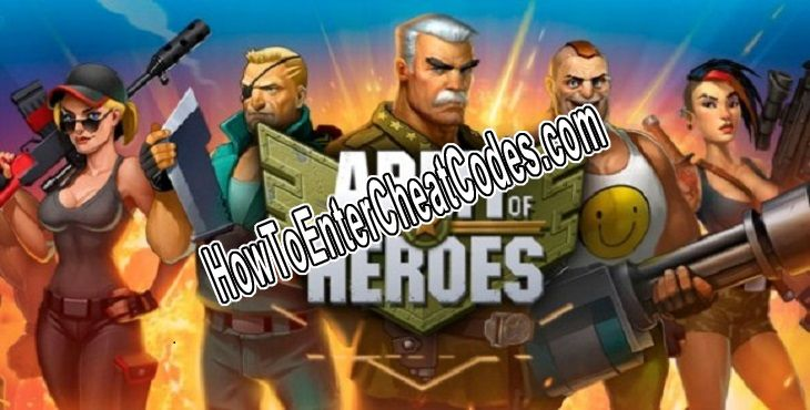 Army of Heroes Hacked Bills/Cash, Wood and Coins