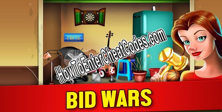 Bid Wars Hacked Money and Gold