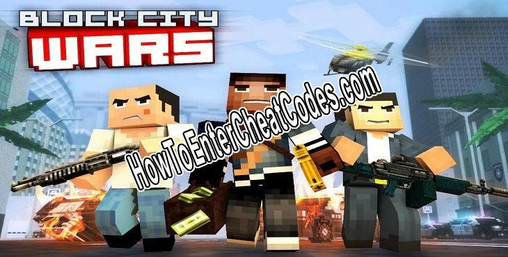 Block City Wars Hacked Money, Ammo, Health and God Mode