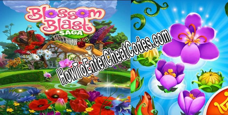 Blossom Blast Saga Hacked Gold and Lives