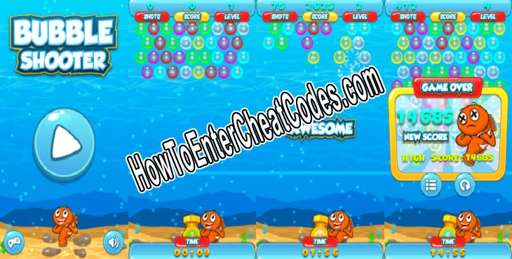 Bubble Shooter Hacked Money/Coins and Unblocked All