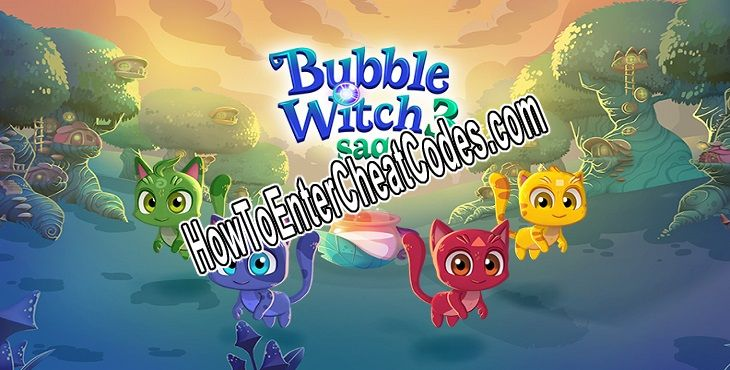 Bubble Witch 3 Saga Hacked Gold, Boosters and Lives