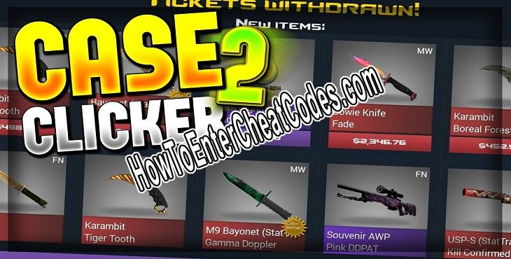 Case Clicker 2 Hacked Money, Keys and Cases