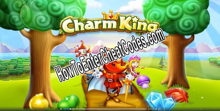 Charm King Hacked Lives, Moves and Gold