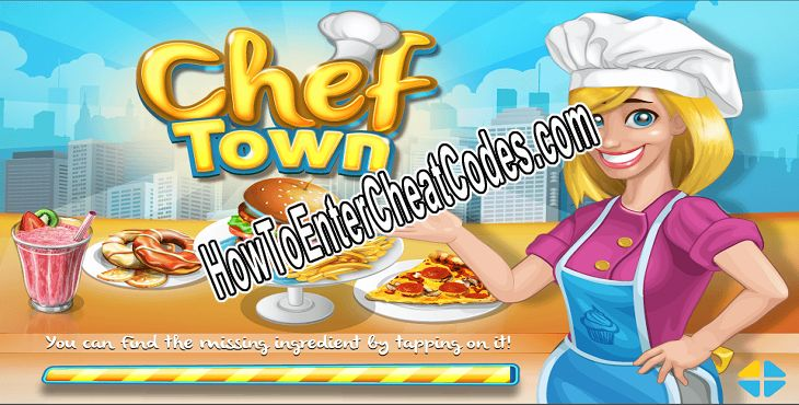 Chef Town Hacked Gems and Coins