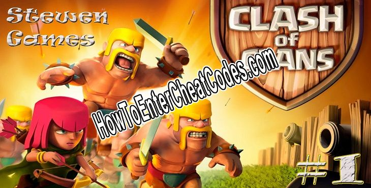 Clash of Clans Hacked Gems, Coins and Elixir