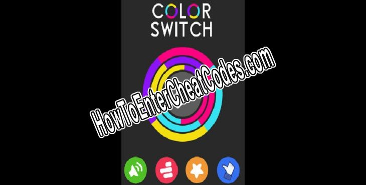 Color Switch Hacked Stars/Money