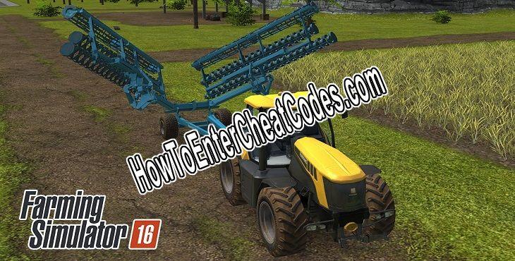 Farming Simulator 16 Hacked Money