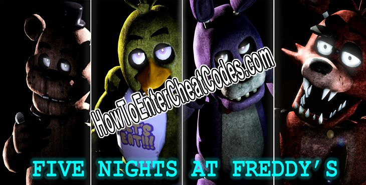 Five Nights At Freddy's Hacked Power, Unlock All Levels and Speed