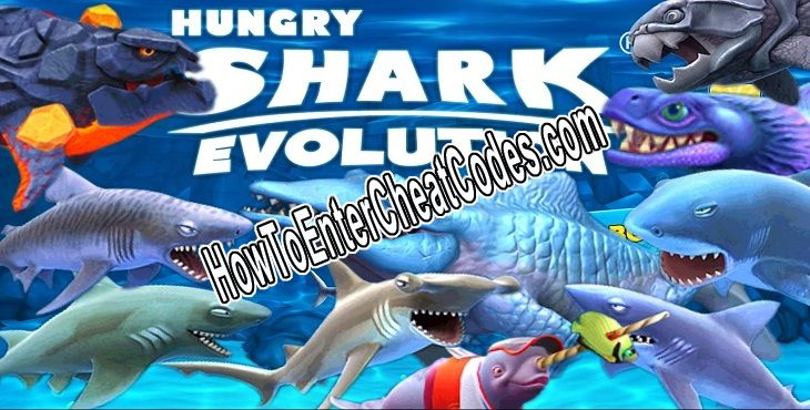 Hungry Shark Evolution Hacked Gems and Coins