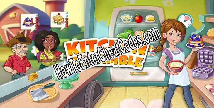 Kitchen Scramble Hacked Money and Coins