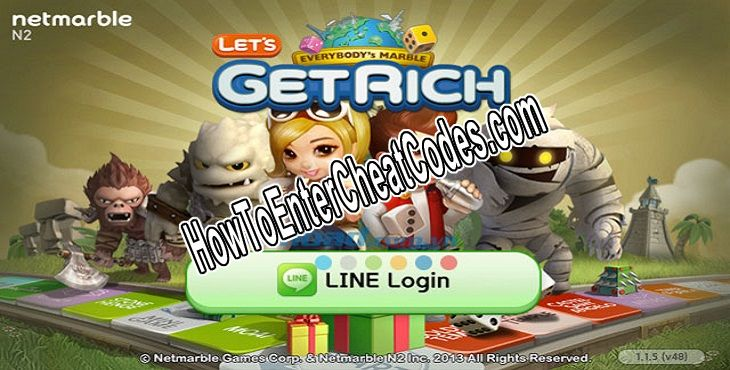 LINE Let's Get Rich Hacked Diamonds