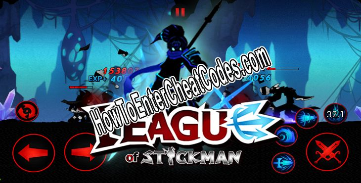 League of Stickman Hacked Gems and Coins