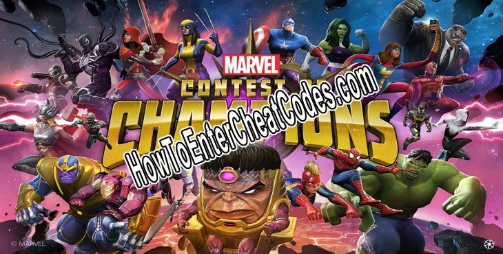 MARVEL Contest of Champions Hacked Units, ISO-8 and Money