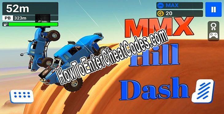 MMX Hill Dash Hacked Gold and Unlock All