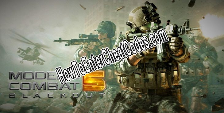 Modern Combat 5 Hacked Money and Weapons