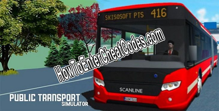 Public Transport Simulator Hacked XP and Unlock All